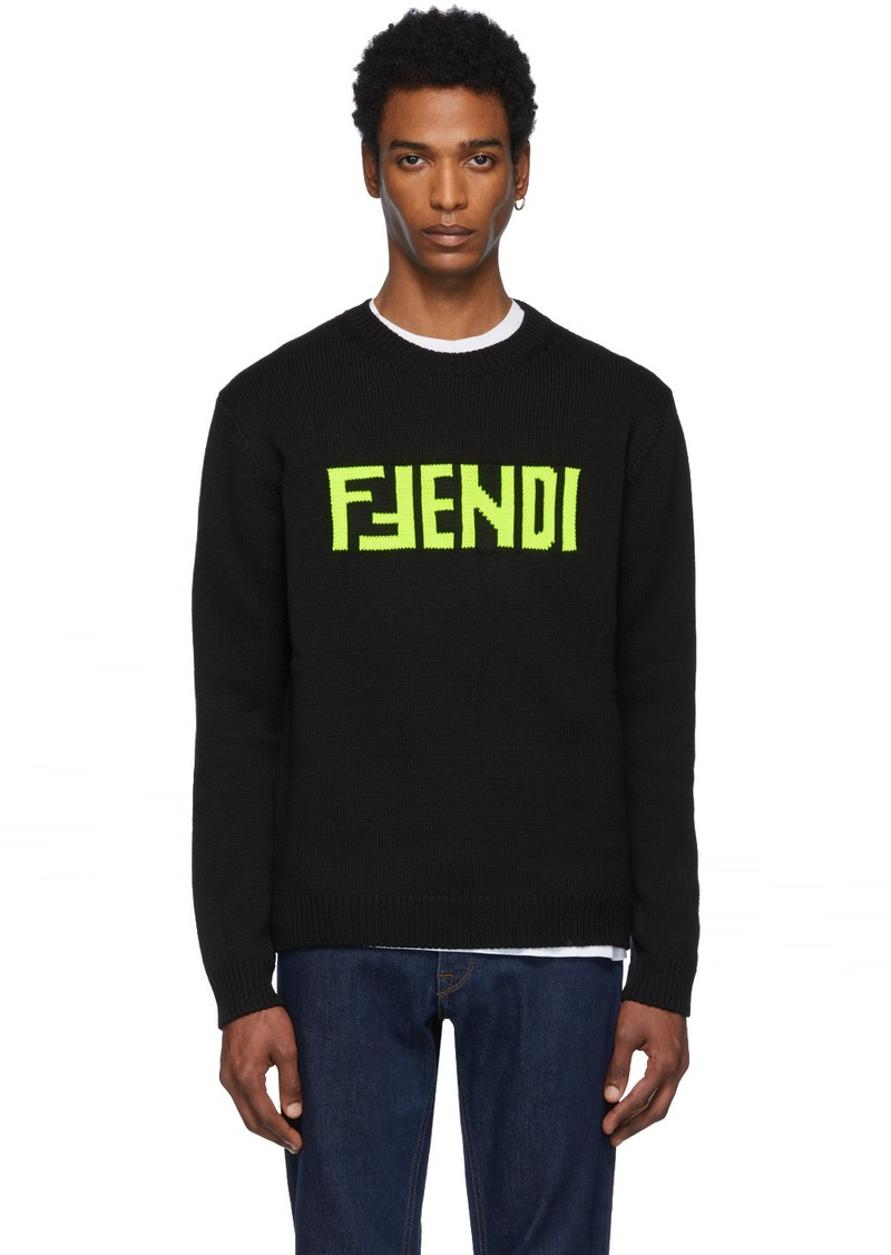 Black 'F Fendi' Sweater