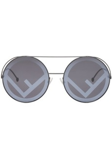 Black 'F is Fendi' Sunglasses