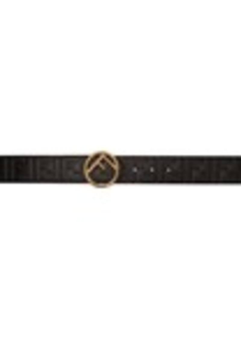 Black 'Forever Fendi' Belt