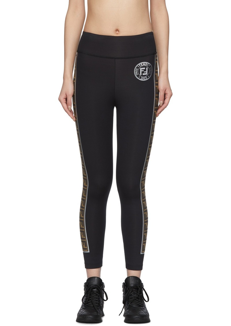 Black 'Forever Fendi' Leggings