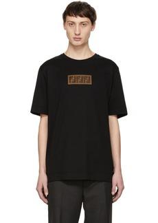Black 'Forever Fendi' Patch T-Shirt