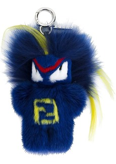 blue Fendirumi Bug-kun bag charm