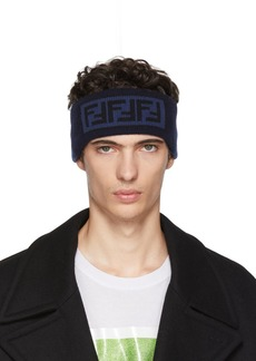 Blue 'Forever Fendi' Headband