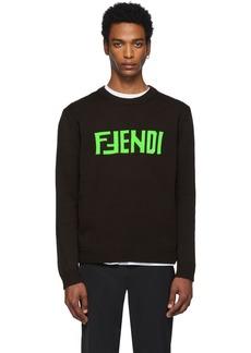 Brown 'F Fendi' Sweater