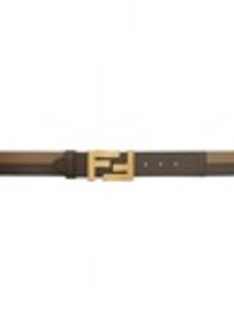 Brown 'Forever Fendi' Belt