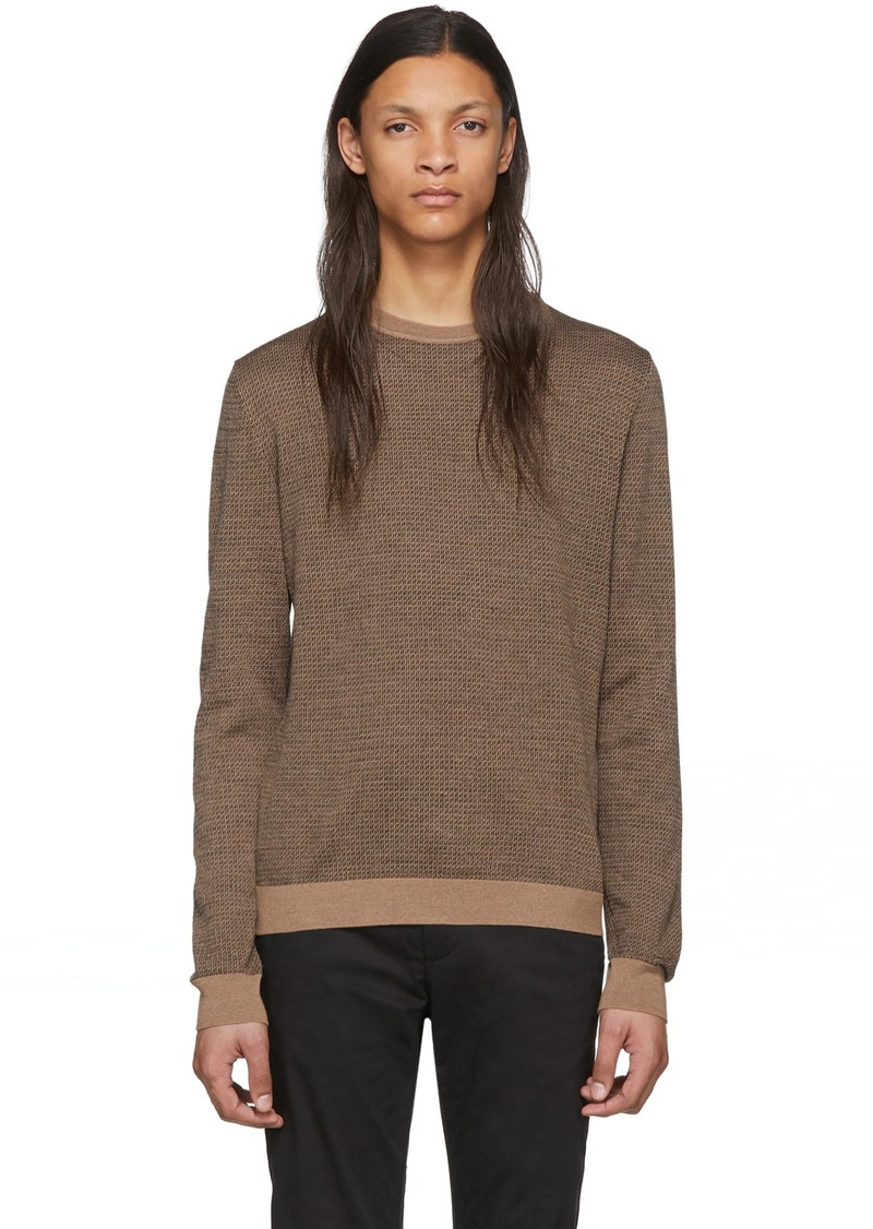 Brown Wool 'Forever Fendi' Sweater