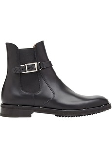 Fendi buckle ankle boots