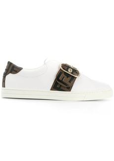 Fendi buckled FF motif sneakers