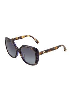 Fendi Butterfly Plastic Sunglasses