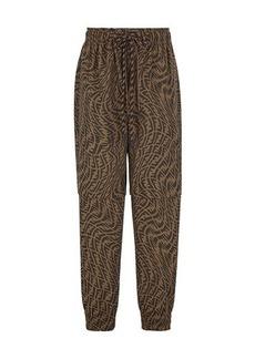 Fendi Canvas Trousers