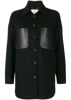 Fendi cashmere cocoon coat