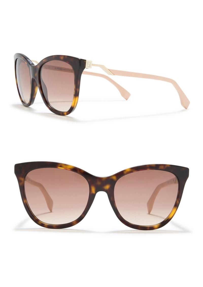 Fendi Cat Eye 55mm Sunglasses
