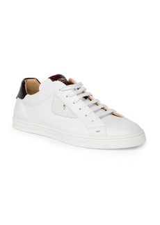 Fendi Caymen Leather Sneakers