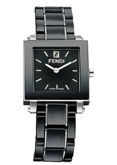 Fendi Ceramic Quadro Watch