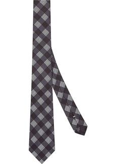 Fendi checked tie