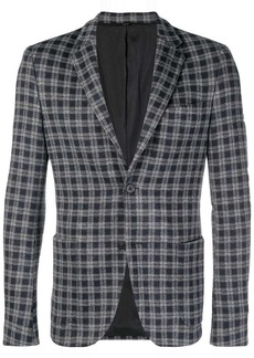 Fendi checkered blazer