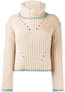 Fendi chunky knit sweater