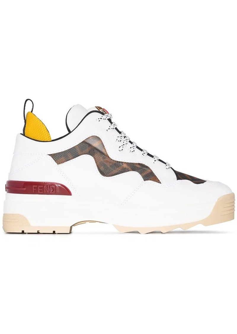 Fendi chunky low-top sneakers