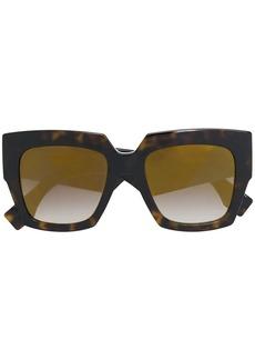 Fendi chunky oversized sunglasses