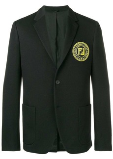 Fendi circle logo blazer