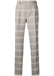 Fendi classic checked trousers