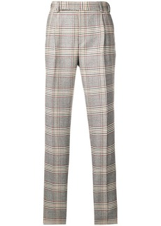 Fendi classic checked trousers
