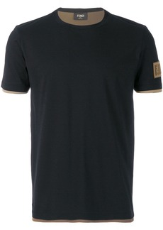 Fendi classic fitted T-shirt