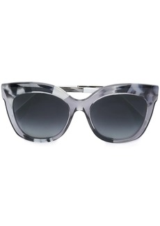 Fendi clear frame sunglasses