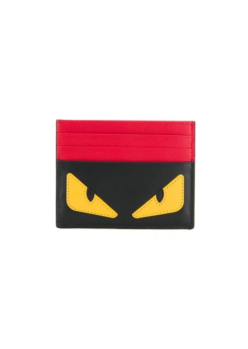 Fendi color block card holder