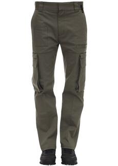 Fendi Cotton Gabardine Cargo Pants