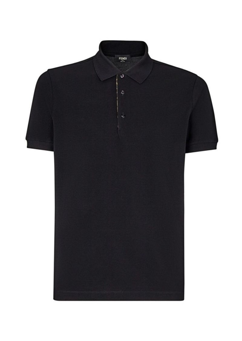 Fendi Cotton Polo Tee