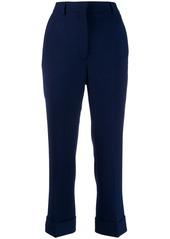 Fendi crêpe tailored trousers