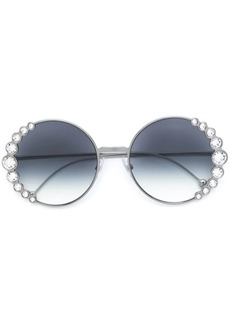 Fendi crystal embellished sunglasses