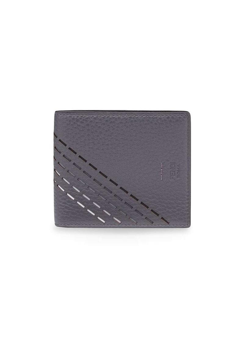 Fendi cut out detail wallet