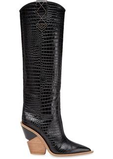 Fendi Cutwalk cowboy knee boots