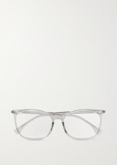 Fendi D-frame Acetate And Gold-tone Optical Glasses