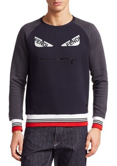 Fendi Demon Eyes Crewneck Sweatshirt
