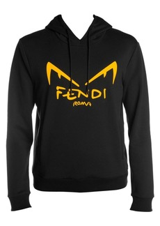 Fendi Diabolik Eye Graphic Hoodie