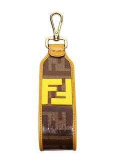 Fendi double F logo keyring