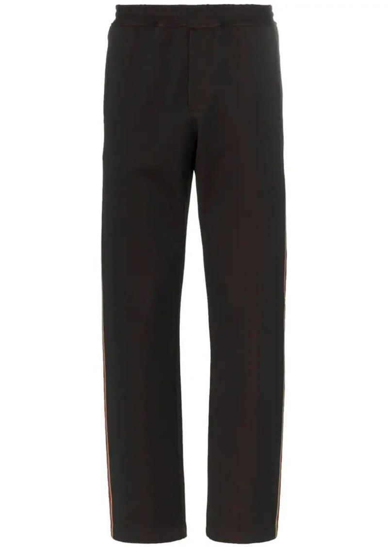 Fendi Double F logo stripe sweatpants