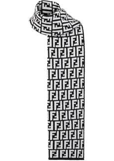 Fendi Double F print scarf