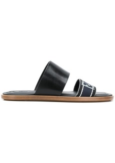 Fendi double strap sandals