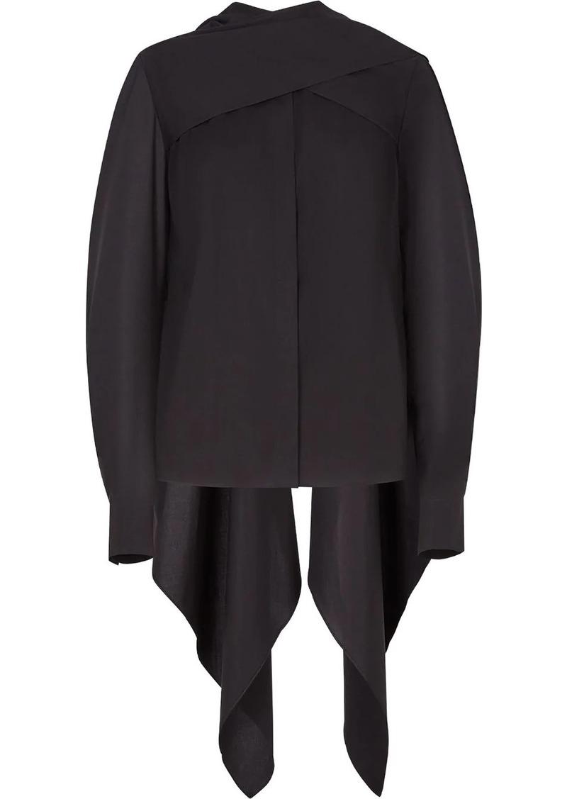 Fendi draped blouse