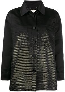Fendi duchess shirt style jacket