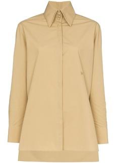Fendi Edwardian collar shirt