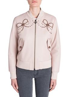 Fendi Embellished Bomber Jacket