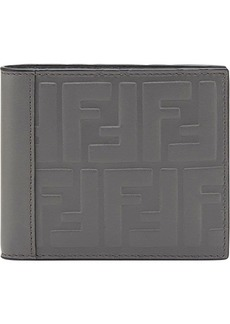 Fendi embossed FF wallet