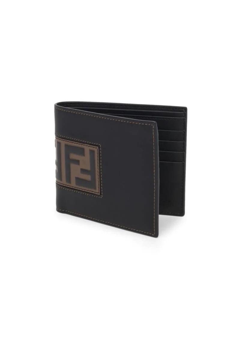 Fendi Embossed Logo Patch Wallet