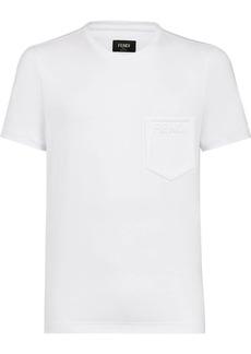 Fendi embossed logo T-shirt