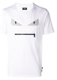 Fendi embroidered Bag Bugs T-shirt